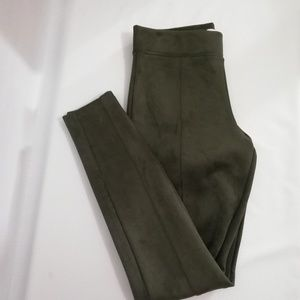 Old navy Stevie Suede pants khaki small